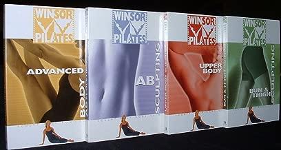 Winsor Pilates Basic 4 DVD Workout Set (Bun & Thigh Sculpting, Upper Body Sculpting, Ab Sculpting, & Advanced Body Slimming)