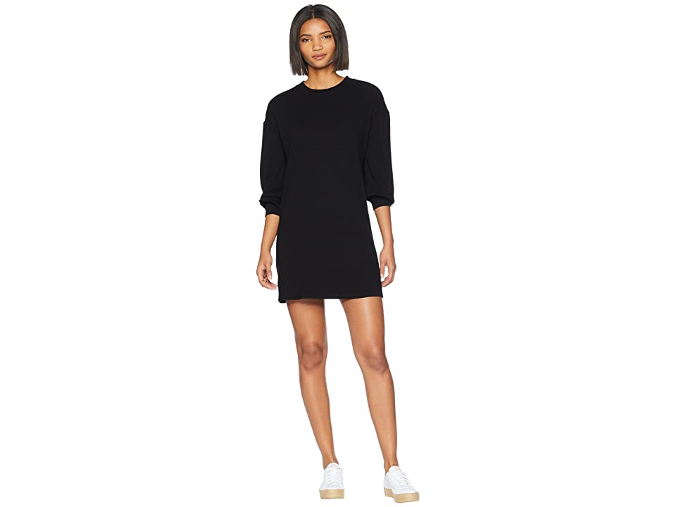 Volcom Lil Long Sleeve Dress (Black 1) Women