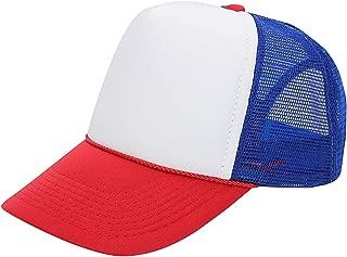 Quality Merchandise Premium Trucker Cap Modern Summer Urban Style Cap - Adjustable Snapback - Unisex Design - Mesh Back