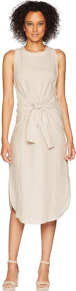 Woven Linen Dress
