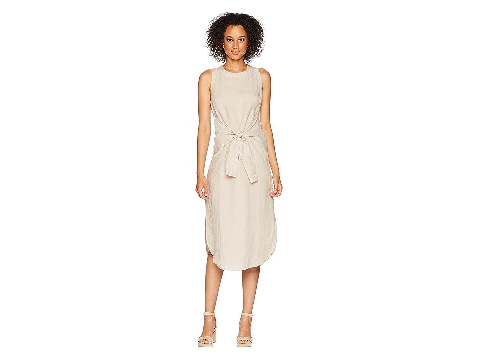 Three Dots Woven Linen Dress (Sailcloth) Women