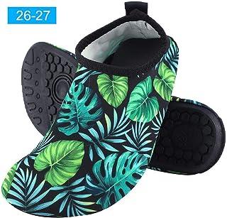 Yuanhua 1 Water Shoes, Kids Quick Drying Aqua Skin Socks Swimming Slipper for Beach Pool Swim Exercise