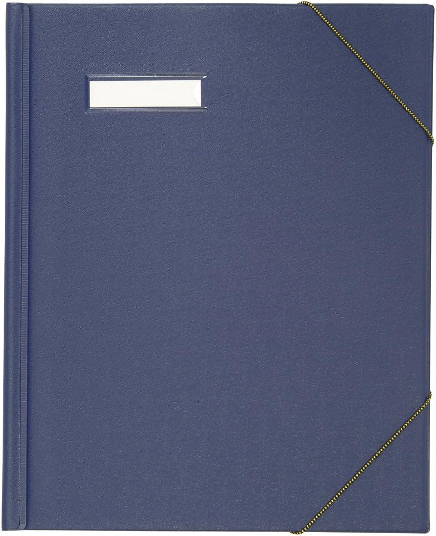 ELBA 100420821 U aufmappe 5er Pack f&uu ;r DINA A4 Dokumente mit Eckspannergummi und beschriftungsfenster aus Karton mit PVC-Folie verotelt in blau B00E0HVZC6 | Spielzeugwelt, fröhlicher Ozean