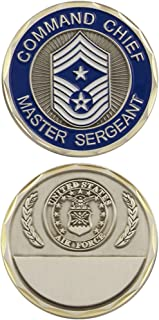 U.S. Air Force Command Chief Master Sergeant Challenge Coin