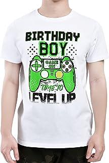 Camiseta de Cumpleaños - Regalo de Manga Corta para Fiesta de Videojuegos