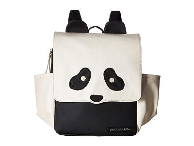 petunia pickle bottom Black Panda Mini Me Critter Pack (Ivory/Black) Diaper Bags