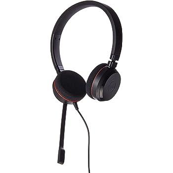 Amazon Com Jabra Evolve 20 Microsoft Lync Stereo Headset Electronics