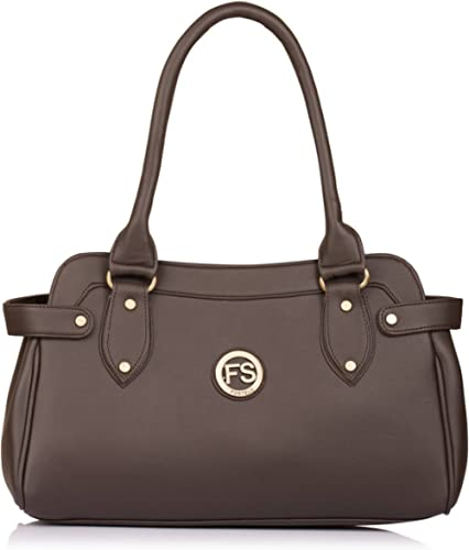 Fostelo Women's Kelly Style Handbag (Brown) product image
