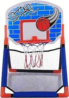 73-170cm YVSoo Canasta Baloncesto Infantil Ajustable Canasta Baloncesto Exterior y Interior Juguetes Deportivos para Ni/ños