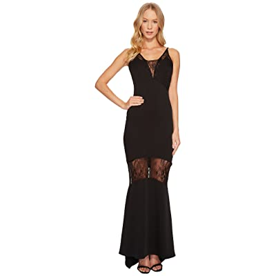 Adelyn Rae Laila Maxi Dress (Black) Women