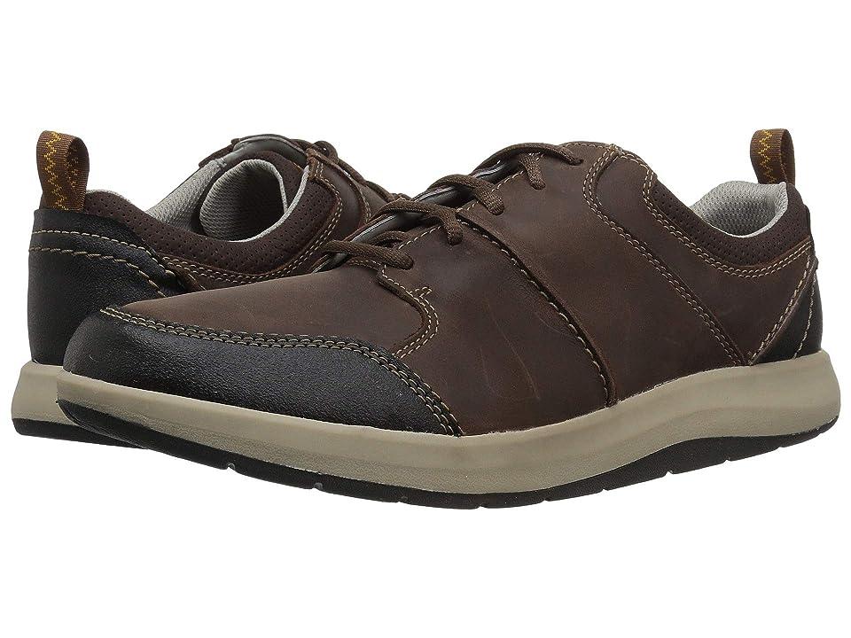 Clarks Shoda Stride (Brown Waterproof Leather) Men