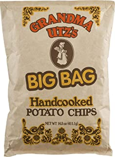 Grandma Utz's Handcooked Potato Chips 14.5 oz. Big Bag (4 Bags)