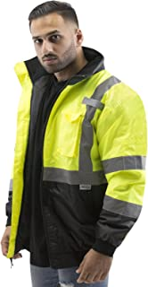 cold weather high visibility jackets