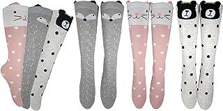 Girls Knee High Long Socks Gift For 4-8 Year Old Girl Sock From Tiny Captain