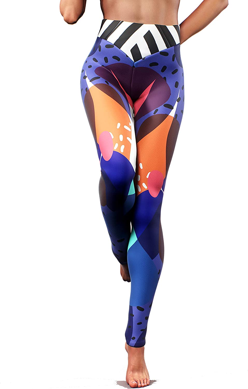 Booty Sculpted Berry Smoothie Leggings Attention brand 2021new shipping free Pants Yoga Blue O Women