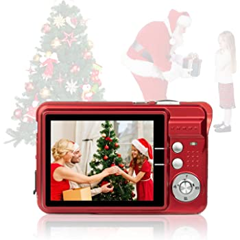 HD Mini Digital Cameras,Point and Shoot Digital Cameras for Kids Students Teens-Travel,Camping,Gifts