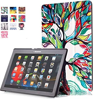 WindTeco Lenovo Tab 2 A10 / Tab3 10 Plus Funda, Smart Case