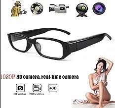 HOT SALE! Mini HD Spy Camera Glasses 1080P Hidden Eyeglass Sunglasses Cam Eyewear DV DVR