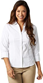 Riders by Lee Indigo Women`s Easy Care ¾ Sleeve Woven Shirt