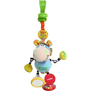 Playgro Toy Box Dingly Dangly Clip Clop for baby infant toddler children 0101140,Playgro is Encouraging Imagination with STEM/STEM for a bright future - Great start for a world of learning
