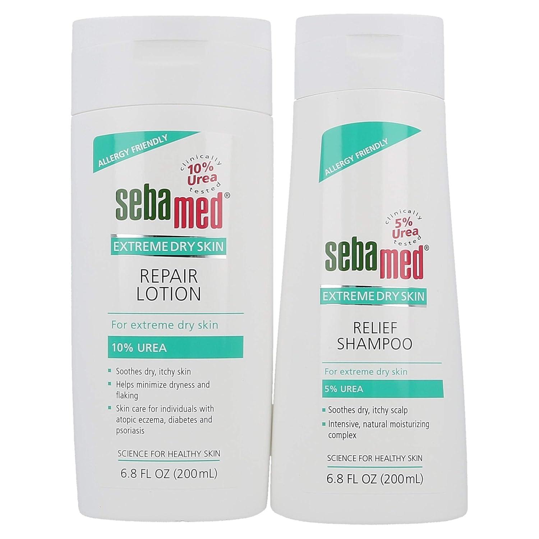 Sebamed Fees free Extreme Dry Skin 5% Special Campaign Urea Lo 10% Shampoo and 200mL