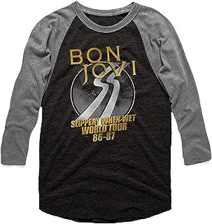 BON JOVI ボン・ジョヴィ (デビュー35周年記念) - WORLD TOUR ラグラン/長袖/Tシャツ/メンズ 【公式/オフィシャル】