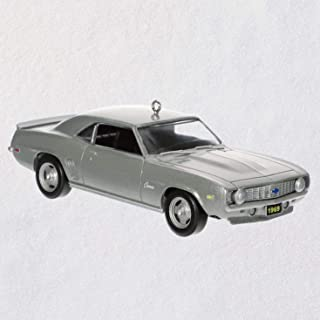 Hallmark 1969 Chevrolet Camaro ZL1 50th Anniversary Metal Ornament Transportation