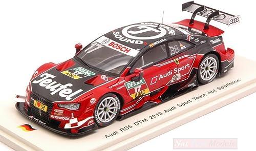 directo de fábrica Spark Model SG296 Audi RS5 N.17 13th DTM 2016 M.Molina M.Molina M.Molina 1 43 MODELLINO Die Cast Compatible con  muy popular