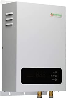 Sio Green SIO14 v2 Infrared Electric Tankless Water Heater - Instant Hot Water Heater - Corrosion Free - Free Maintenance - 220v - 240v / 60A / 14W