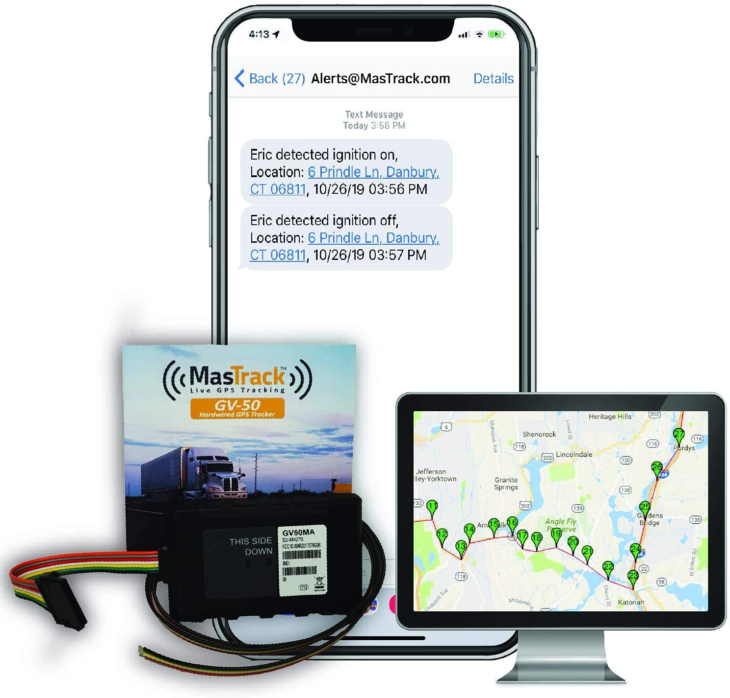 Mas Track - Hardwired Live GPS Vehicle Tracker