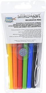 silikomart Set de 6 bolígrafos alimenticios