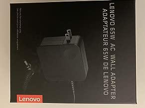 Lenovo 65W AC Wall Adapter P/N: GX20L29355 for Lenovo Notebooks: Ideapad Flex 4-1480-80VD, Ideapad Flex 4-1580-80VE, Ideapad 510S, Compatible with P/N: 5A10K78745, ADLX65CLGU2A - Retail Box.