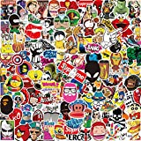 Lot Autocollant [150-PCS] Q-Window Graffiti Stickers Vinyle Enfants Autocollants pour Voiture Tuning Moto Ps4 Livre Vélo Iphone...