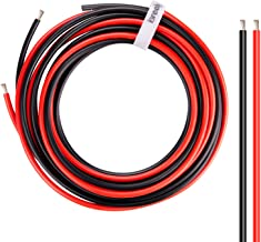 10 Gauge Wire - iGreely 10 FT Red & 10 FT Black 10 Gauge Tinned Copper Electrical Wire Cable for Car Audio Automotive Trai...