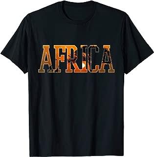 Africa Sunset Sunrise Safari Proud Roots Vacation Gift T-Shirt