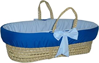 Best baby blue moses basket Reviews