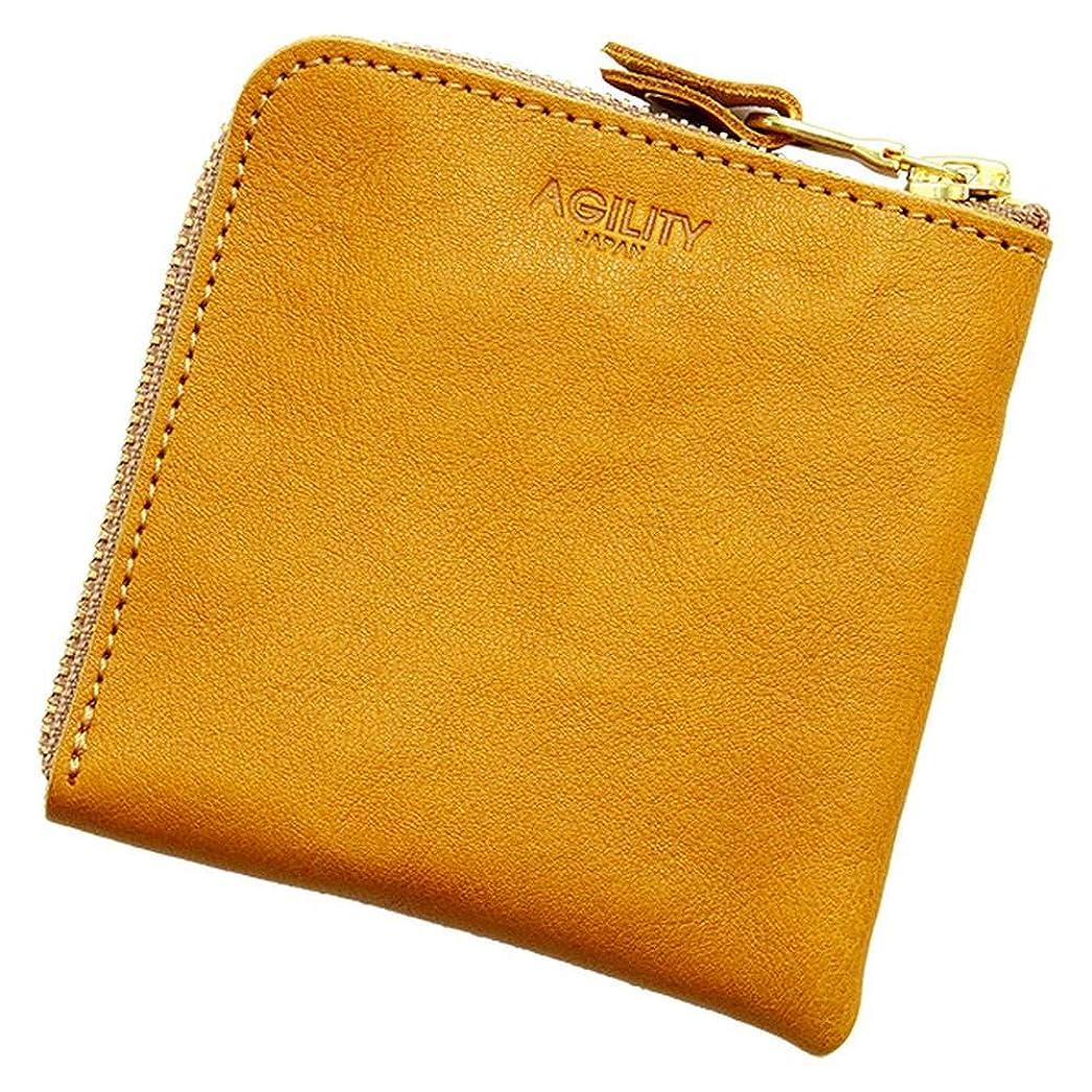 リッチ涙結婚アジリティアッファ(AGILITY affa)『スクエアウォレット』ハーフウォレット コインケース カードケース