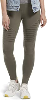 Brown Large 12-14 HUE Womens Loafer Legging Espres Tweed