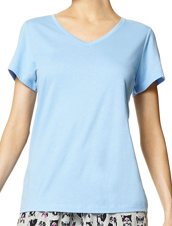 HUE Bombing new work Al sold out. Women's Short Sleeve V-Neck Sleep Tee