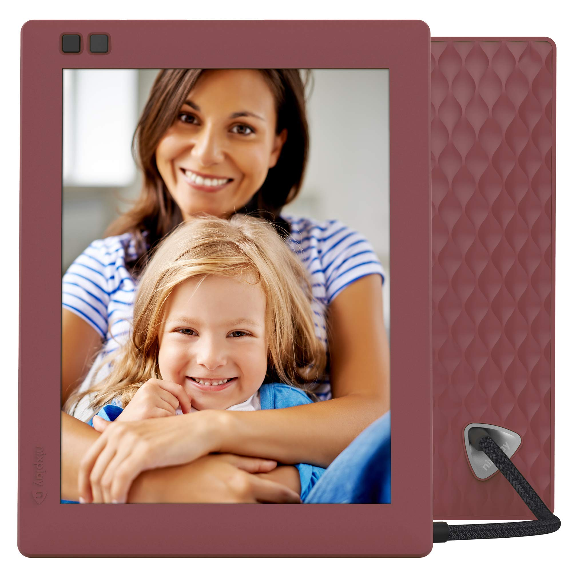 Wall-Mountable Digital Picture Frame with Motion Sensor and 10GB Online Storage Nixplay Original 15 Inch Digital WiFi Photo Frame W15A Display and Share Photos with Friends via Nixplay Mobile App