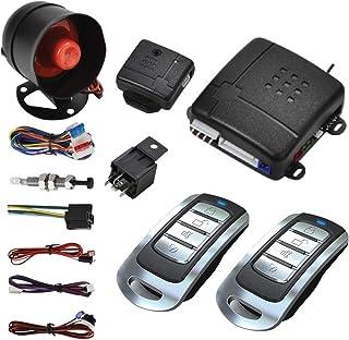 $31 » MASO Car Central Lock Universal Auto Remote Central Kit Vehicle Door Lock with Shock Sensor + Contorl Box + 2 Remote Conto...