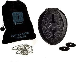 law enforcement badge necklace