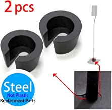 BOSE UFS-20 Speaker Stand Parts - Washer, Custom Made STEEL (not plastic) Washer, Black, 2pcs