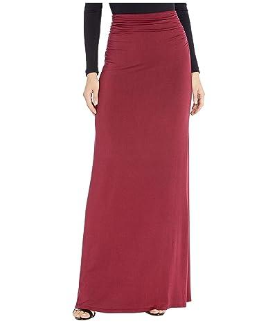 LAmade Nonna Maxi Skirt (Pinot Noir) Women