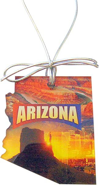 Westman Works Arizona Christmas Ornament Acrylic State Shaped Decoration Boxed Gift Made In The USA