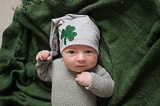 Baby's First St. Patrick's Day Shamrock Newborn Hat