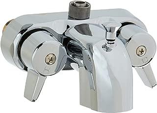 EZ-FLO 11129 Add-On Shower Diverter Bathcock, 3/8-inch MIP, Chrome
