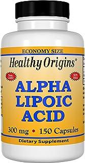 Healthy Origins Alpha Lipoic Acid Multi Vitamins, 300 Mg, 150 Count