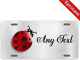 Best ladybug license plate Reviews