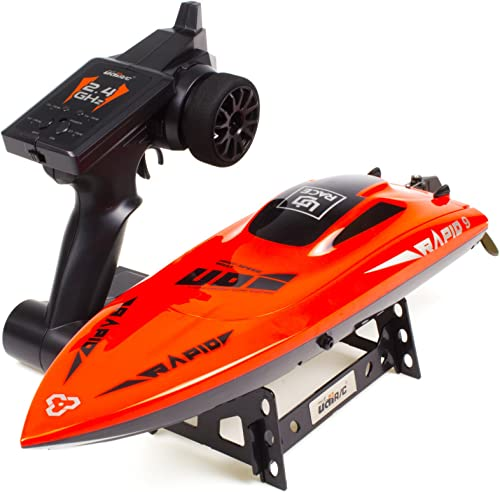 wholesale Cheerwing UDI 2.4Ghz RC Racing discount Boat for Adults 30KM/H High Speed Electronic Remote Control Boat outlet online sale for Kids online